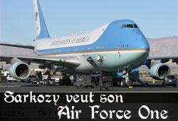 Air Force One de Sarkozy
