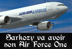 Air Force One Sarkozy