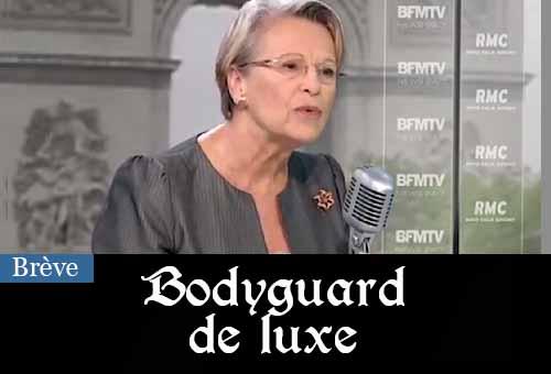 La facture des 4 gardes du corps de Michèle Alliot-Marie : plus de 287 000 euros par an