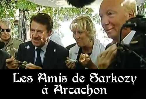 Les Amis de Sarkozy à Arachon