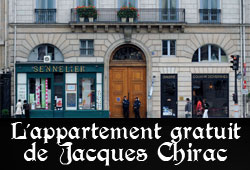 Appartement de Jacques Chirac