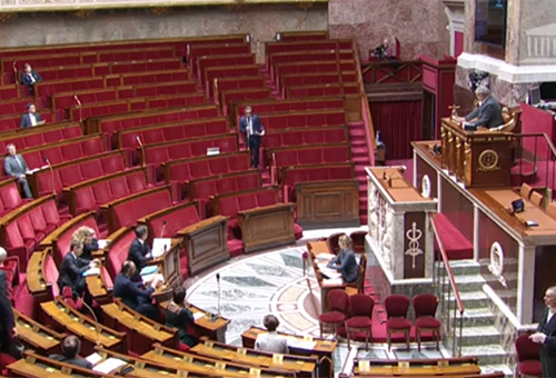 Assemblée nationale en 2020