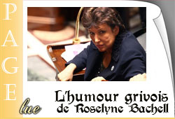 Roselyne Bachelot au parlement
