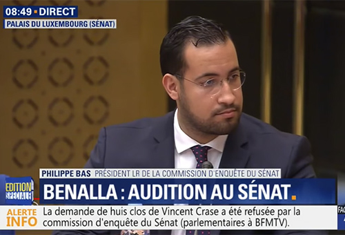 Benalla, audition Sénat