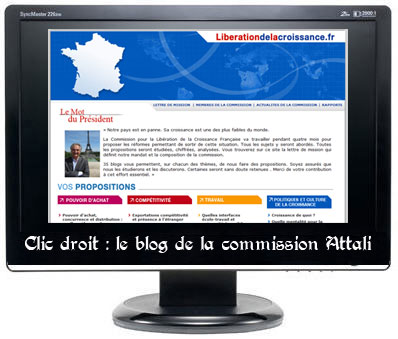 Blogs de la commission Attali