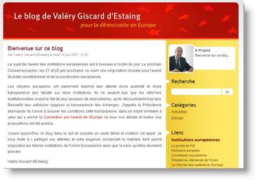 Blog Giscard