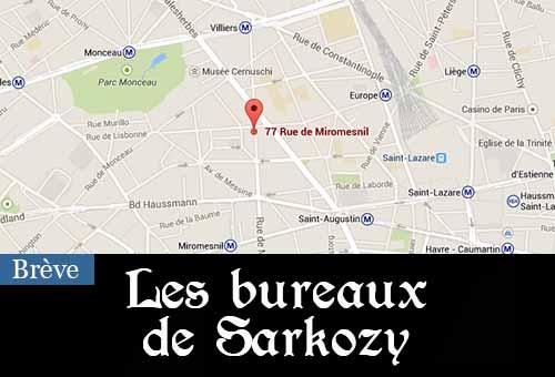 Les bureaux de Sarkozy