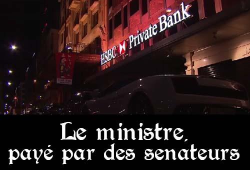 Le compte caché des sénateurs UMP : un ministre de Sarkozy a perçu 4 000 euros par mois