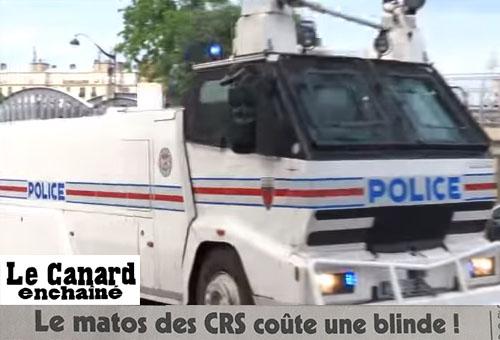 Camion de CRS
