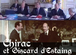 Chirac et Giscard