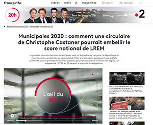 Circulaire Castaner - municipales 2020