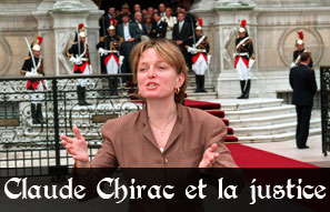 Justice : Claude Chirac