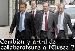 Collaborateurs, cabinet ministériel