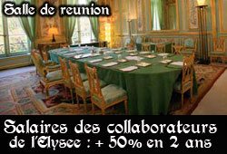Salaire des collaborateurs