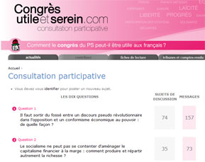 Consultation participative