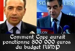 Copé et les 810 000 euros du budget de l'UMP