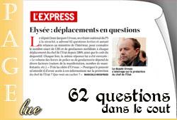 Le coût de la sécurité de Sarkozy