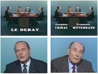 Debat Mitterand Chirac 1988