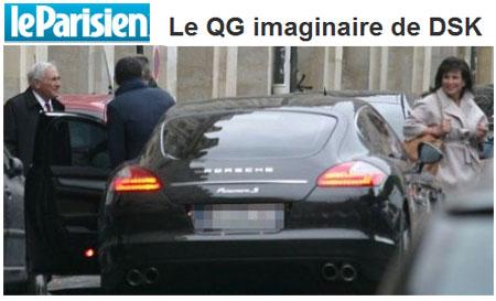 DSK en Porsche