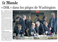DSK à Washington