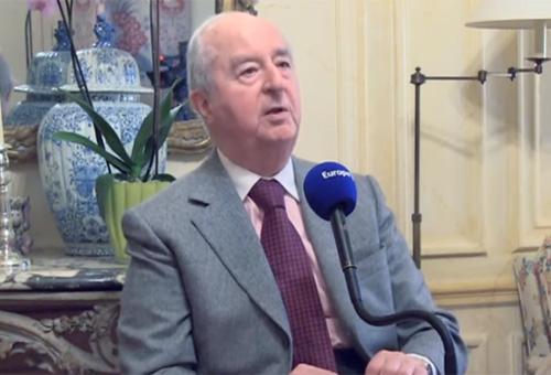 Edouard Balladur en 2014