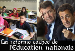 Réforme de l'Education nationale