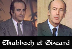 Elkabbach et Giscard d'Estaing