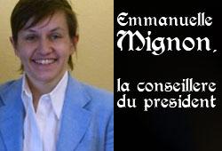 Emmanuelle mignon, portrait de la conseillère de nicolas sarkozy