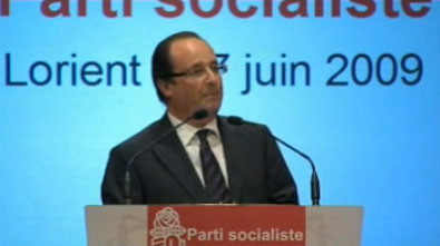 Hollande en juin 2009