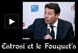 Estrosi et le Fouquet's