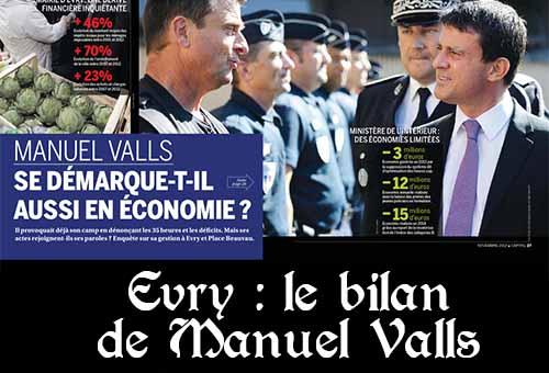 Bilan de Valls à Evry