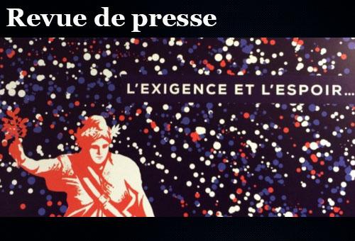 Exigence et espoir, carte de voeux de Manuel Valls