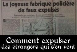 Expulsions des étrangers