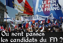 Front national, municipales