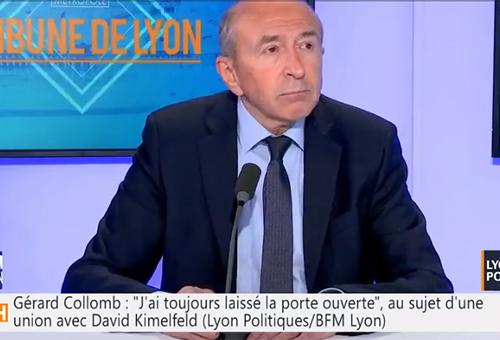 Gérard Collomb, candidat à Lyon