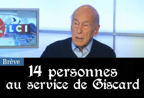 Giscard 14 personnes