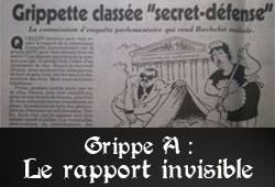 Grippe A, rapport caché