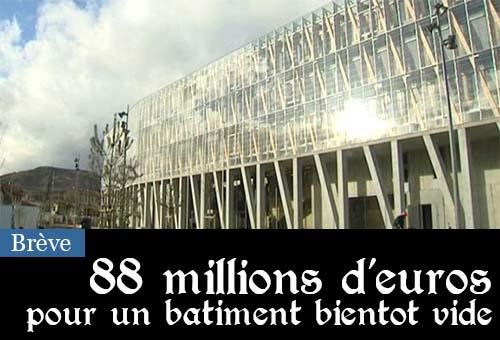 Un hôtel de région qui a coûté 81 millions d'euros va devenir inutile avec la fusion Auvergne-Rhône-Alpes