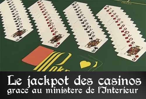 Jackpot des casinos