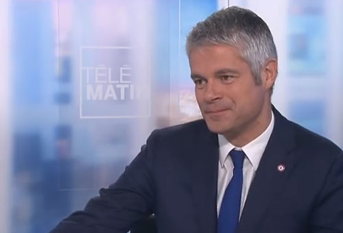 RhÃŽne Alpes, Laurent Wauquiez