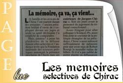 Mémoires de Chirac