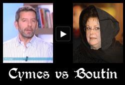 Michel Cymes et Christine Boutin