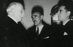 Mitterrand et Pétain
