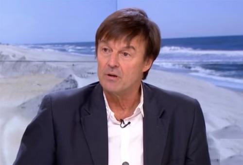 Nicolas Hulot, ministre