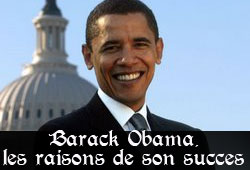 Obama, candidat démocrate
