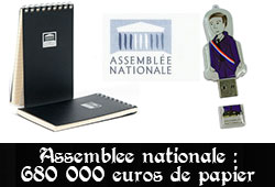 Papeterie Assemblée nationale