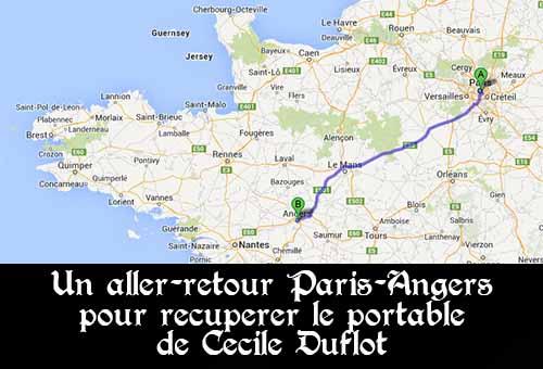 Le chauffeur de Cécile Duflot a fait un aller-retour de 600km pour récupérer le portable de la ministre