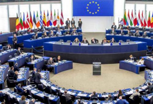 Parlement européen en 2018