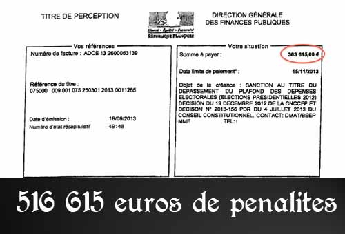 Pénalités de Sarkozy