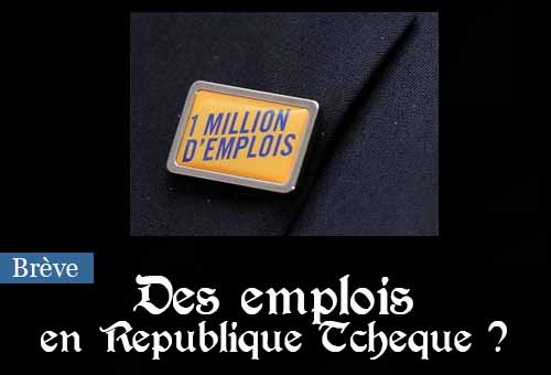Un pin's à 1 million d'emplois